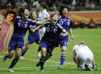 祝なでしこジャパン