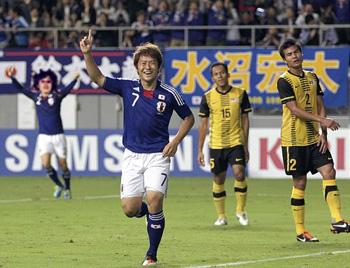 日本対マレーシア