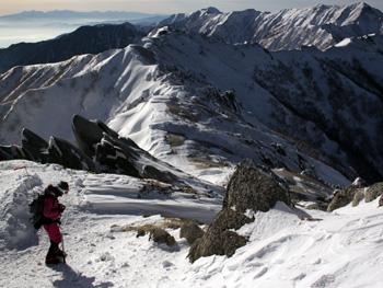 雪山登山~燕岳~vol.3