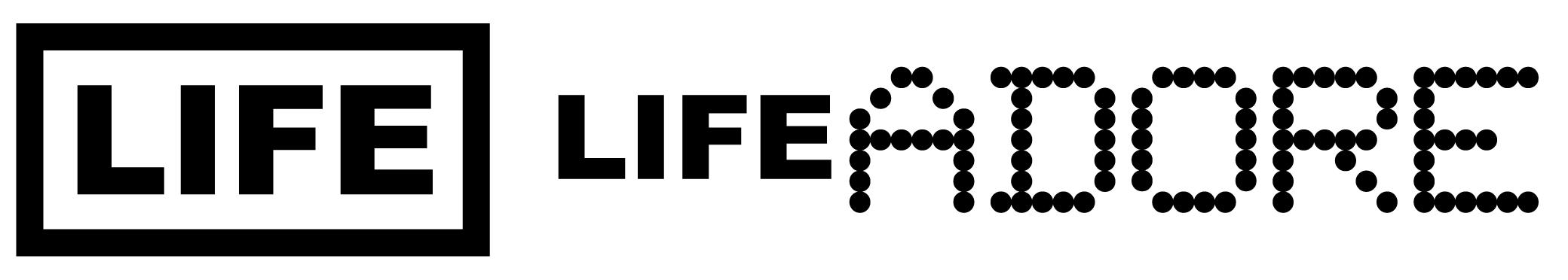 LIFE / LIFE ADORE Homepage logo